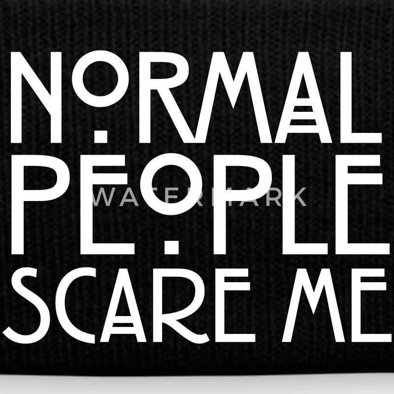 Normal People Scare Me Kepsar & mössor - Vintermössa
