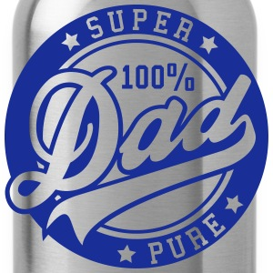 100 percent PURE SUPER DAD Pullover & Hoodies - Trinkflasche