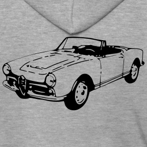 Oldtimer Cabrio (1 Col.) Shirts - Men's Premium Hooded Jacket