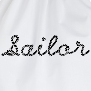 Sailor, Sailing, Skipper, Rope, Sea T-Shirts - Drawstring Bag