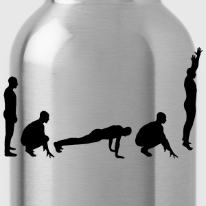 Evolution - Burpee T-Shirts - Water Bottle