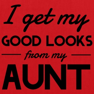 I Get My Good Looks From My Aunt Shirts - Tote Bag