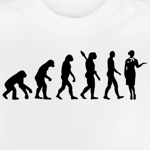 Evolution Stewardess T-Shirts - Baby T-Shirt