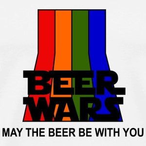 BEER WARS - May the beer be with you Hoodie - Men's Premium T-Shirt