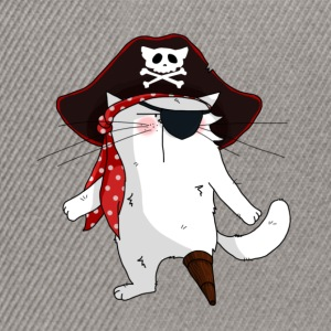 Chat Pirate - Casquette snapback