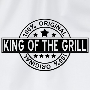 king of the grill T-Shirts - Drawstring Bag