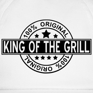 king of the grill T-shirts - Basebollkeps