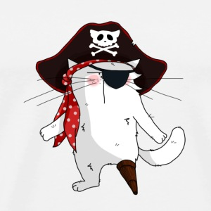 Chat Pirate - T-shirt Premium Homme