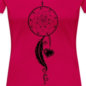 Traumfänger, dreamcatcher, Indianer, indian Long Sleeve Shirts - Women's Premium T-Shirt