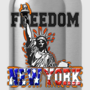 freedom new york statue de la liberté Sweat-shirts - Gourde
