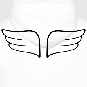 wingwings wingwings T-shirts - Mannen Premium hoodie