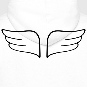 wingwings wingwings Tee shirts - Sweat-shirt à capuche Premium pour hommes
