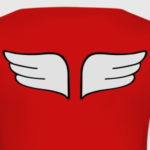 wings ailes Tee shirts - T-shirt manches longues Premium Femme