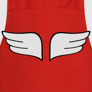 wings alas Camisetas - Delantal de cocina