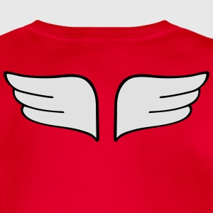 wings Shirts - Organic Short-sleeved Baby Bodysuit