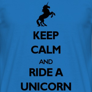 Ride a unicorn - Men's T-Shirt