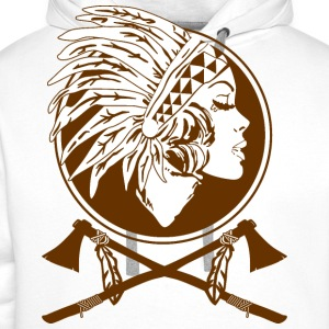 Indian Native American - Men's Premium Hoodie