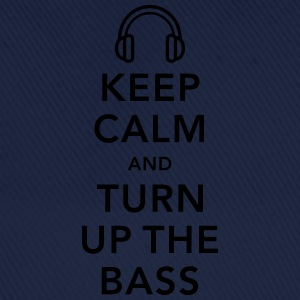keep calm and turn up the bass T-shirts - Baseballcap