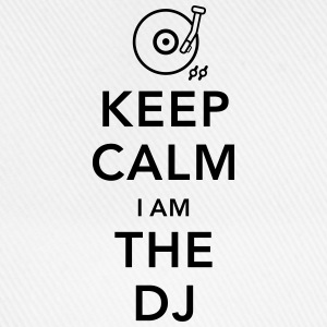 keep calm i am deejay dj Tops - Baseballcap