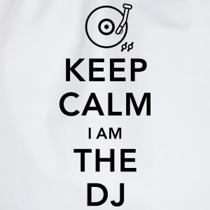 keep calm i am deejay dj Langarmshirts - Turnbeutel