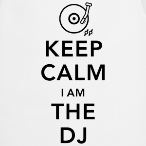 keep calm i am deejay dj Camisetas de manga larga - Delantal de cocina