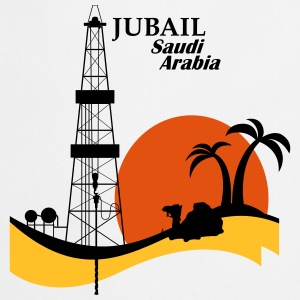 Oil Rig Jubail Saudi Arabia Middle East - Cooking Apron