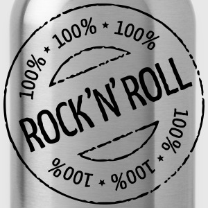 100% Rock 'n' Roll Stamp T-Shirts - Water Bottle