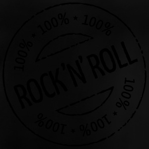 100% Rock 'n' Roll Stamp Shirts - Baby T-Shirt