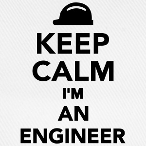 Keep calm I'm an Engineer Flaschen & Tassen - Baseballkappe