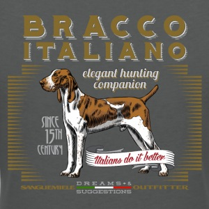 bracco italiano elegant Polo Shirts - Women's V-Neck T-Shirt