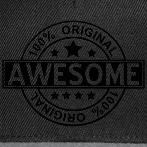 awesome T-shirts - Snapback Cap