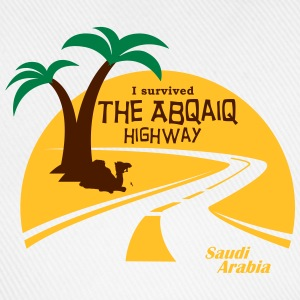 Saudi Arabia Highway Middle East - Baseball Cap
