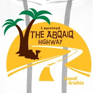Saudi Arabia Highway Middle East - Men's Premium Hoodie