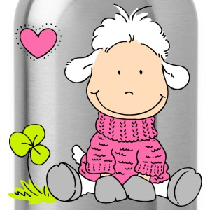 Sheep in Sweater Shirts - Water Bottle