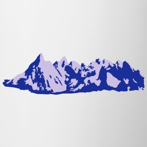 mountains, alps - Mug