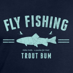 Fly fishing trout bum - Sweatshirt herr från Stanley & Stella