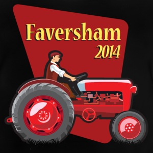 Faversham Transport Tractor - Baby T-Shirt