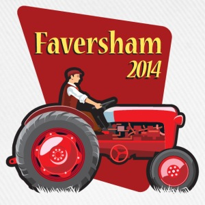Faversham Transport Tractor - Baseball Cap