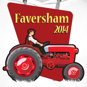 Faversham Transport Tractor - Men's Premium Hoodie