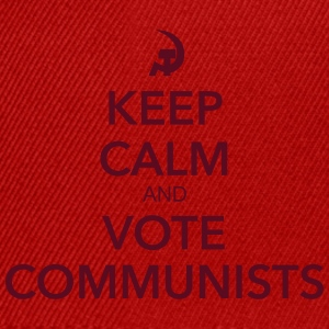 Vote communists - Casquette snapback