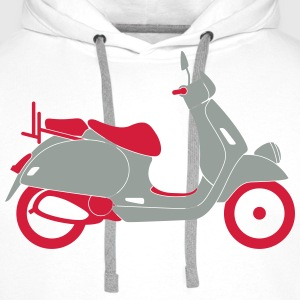 Scooter (2c)++2014 T-Shirts - Men's Premium Hoodie