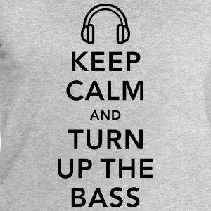 keep calm and turn up the bass Débardeurs - Sweat-shirt Homme Stanley & Stella