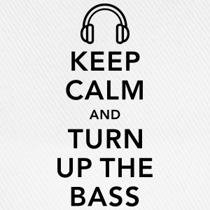 keep calm and turn up the bass Débardeurs - Casquette classique