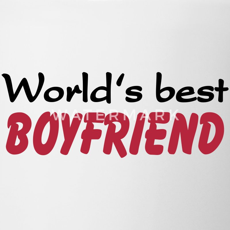 World's best Boyfriend Flaschen & Tassen - Tasse