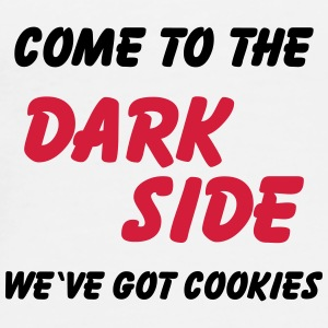 Come to the dark side...we've got cookies Flasker & krus - Herre premium T-shirt