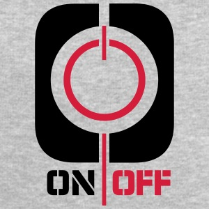On Off Power Symbol Logo T-Shirts - Men's Sweatshirt by Stanley & Stella