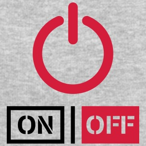 Off On Power Schalter Design T-Shirts - Men's Sweatshirt by Stanley & Stella