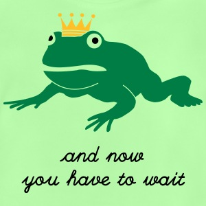 grumpy frog prince - waiting Tröjor - Baby-T-shirt