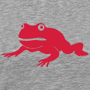 grumpy frog Long sleeve shirts - Men's Premium T-Shirt