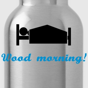 wood morning Singlets - Drikkeflaske